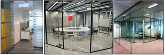 Commercial Glass Wall